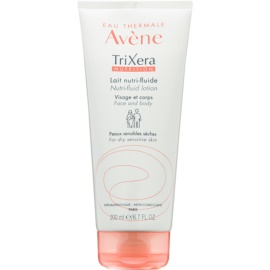 Avène TriXera Nutrition Face and Body Nourishing Fluid Lotion  For Dry and Sensitive Skin  200 ml