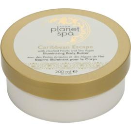 Avon Planet Spa Caribbean Escape Crema de corp cu extract de perle si alge marine  200 ml