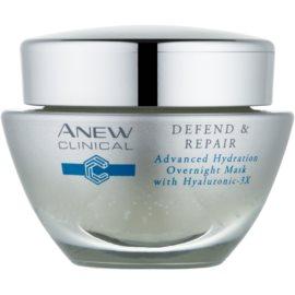 Avon Anew Clinical éjszakai hidratáló maszk regeneráló hatással  50 ml