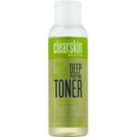 Avon Clearskin Pore & Shine Control lozione viso di pulizia profonda con effetto rinfrescante  100 ml
