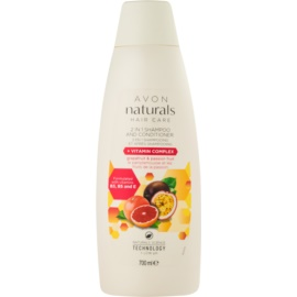 Avon Naturals Hair Care šampon a kondicionér 2 v 1  700 ml