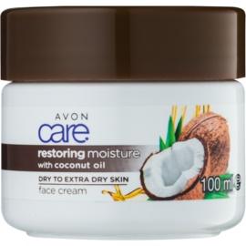 Avon Care hydratační pleťový krém s kokosovým olejem  100 ml