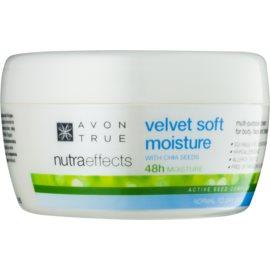 Avon True NutraEffects zjemňujúci hydratačný krém na tvár a telo  200 ml