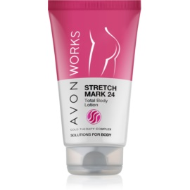Avon Works losjon za telo proti strijam  150 ml