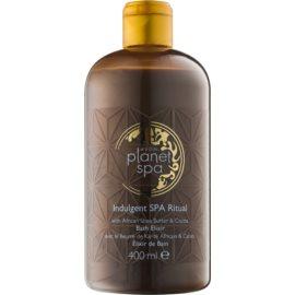 Avon Planet Spa Indulgent SPA Ritual umývacia pena s bambuckým maslom a čokoládou  400 ml