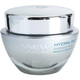 Avon Anew Clinical feuchtigkeitsspendende Maske für die Nacht  50 ml