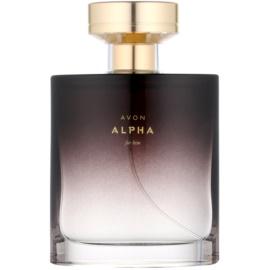 Avon Alpha For Him Eau de Toilette für Herren 75 ml