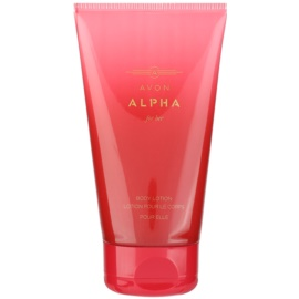 Avon Alpha For Her Körperlotion für Damen 150 ml
