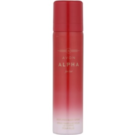 Avon Alpha For Her deospray pro ženy 75 ml