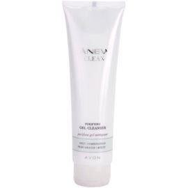 Avon Anew Clean čisticí gel pro smíšenou a mastnou pleť  150 ml