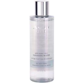Avon Anew Clean reinigendes Gesichtswasser gegen Falten 3 in 1  200 ml