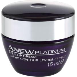 Avon Anew Platinum krema za okoli oči in ustnic  15 ml