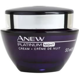 Avon Anew Platinum Nachtcreme gegen tiefe Falten  50 ml