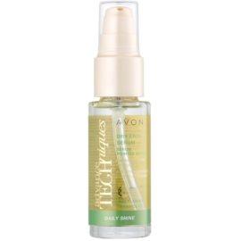 Avon Advance Techniques Daily Shine Serum für trockene Haarspitzen  30 ml