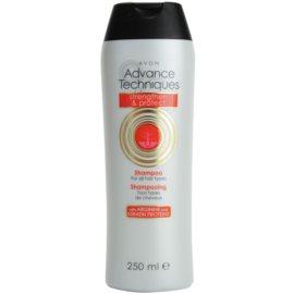 Avon Advance Techniques Strengthen and Protect posilující šampon pro všechny typy vlasů  250 ml