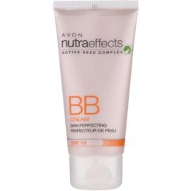 Avon Nutra Effects BB Cream ВВ крем проти недоліків шкіри SPF 15 відтінок Light 30 мл