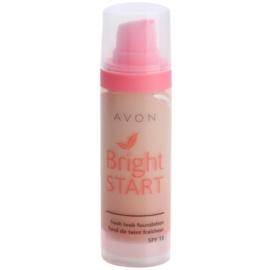 Avon Bright Start розяснюючий тональний крем SPF 15 відтінок Almond 30 мл