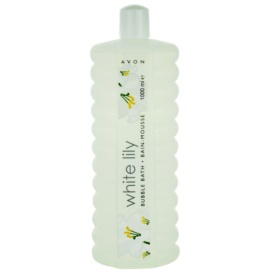 Avon Bubble Bath pena za kopel veliko pakiranje White Lily 1000 ml