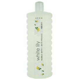 Avon Bubble Bath espuma de baño formato ahorro White Lily 1000 ml