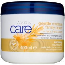 Avon Care Creme für Gesicht und Körper mit Kamille und Haferextrakt  400 ml
