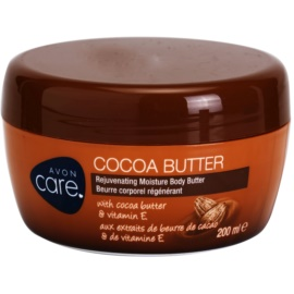 Avon Care Rejuvenating Moisturizing Body Cream Cocoa Butter and Vitamin E  200 ml