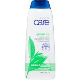 Avon Care leite corporal apaziguador  com chá verde  400 ml