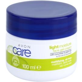 Avon Care crème-gel rafraîchissante aux extraits de concombre et de thé vert  100 ml