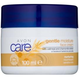 Avon Care Feuchtigkeit spendende Gesichtscreme mit Hafer- und Kamilleextrakten  100 ml