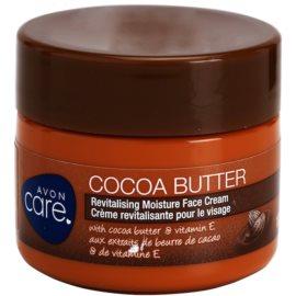 Avon Care revitalizacijska vlažilna krema za obraz s kakavovim maslom  100 ml