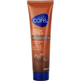 Avon Care revitalizační hydratační krém na ruce s kakaovým máslem a vitamínem E  100 ml