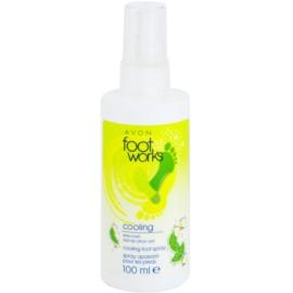 Avon Foot Works Cooling hladilno pršilo  za noge Lime Crush 100 ml