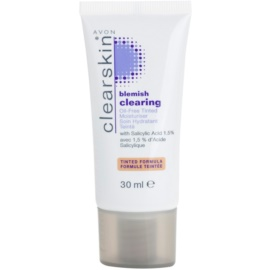 Avon Clearskin Blemish Clearing crema colorata idratante per pelli problematiche colore Medium  30 ml