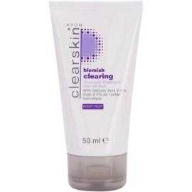 Avon Clearskin  Blemish Clearing tratamiento de noche anti-acné  50 ml