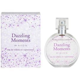 Avon Dazzling Moments toaletní voda pro ženy 50 ml