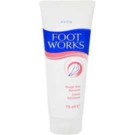 Avon Foot Works Classic крем-пілінг для п'ят  75 мл