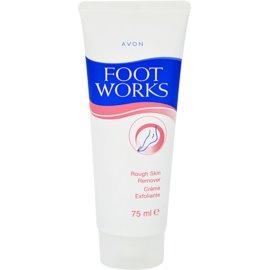 Avon Foot Works Classic crema para lijar talones  75 ml