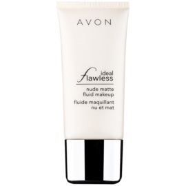 Avon Ideal Flawless mattító make-up árnyalat Shell 30 ml