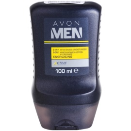 Avon Men Energizing bálsamo after shave hidratante  2 em 1  100 ml