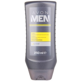 Avon Men Energizing Shower Gel For Body And Hair  250 ml