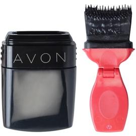 Avon Mega Effects řasenka pro objem odstín Blackest Black 9 ml