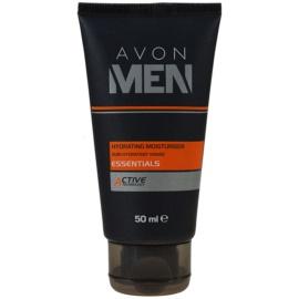 Avon Men Essentials feuchtigkeitsspendende Gesichtscreme  50 ml
