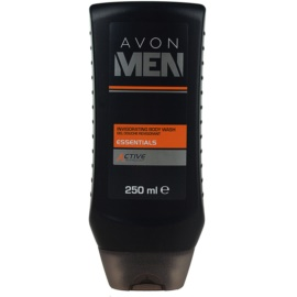 Avon Men Essentials gel de duche refrescante  250 ml