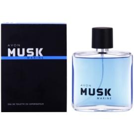 Avon Musk Marine toaletní voda pro muže 75 ml