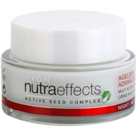 Avon Nutra Effects Ageless Advanced intenzivní noční krém s omlazujícím účinkem  50 ml
