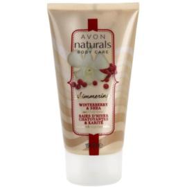 Avon Naturals Body schimmernde Körpermilch mit Stechpalme und Sheabutter  150 ml