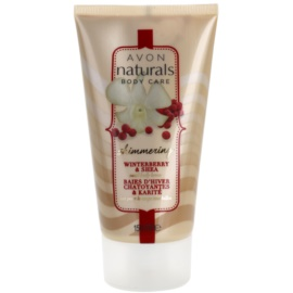 Avon Naturals Body Shimmering Body Milk With Winterbberry And Shea  150 ml