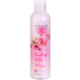Avon Naturals Body leite corporal hidratante com flor de cerejeira  200 ml