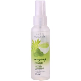 Avon Naturals Body test spray zöld teával és verbénával  100 ml