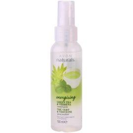 Avon Naturals Body tělový sprej se zeleným čajem a verbenou  100 ml