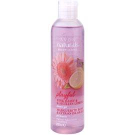 Avon Naturals Body sprchový gél so sedmokráskou a citrónom  200 ml
